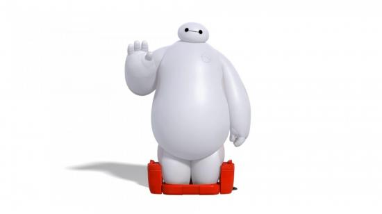 Big hero 6 movie poster baymax 2014