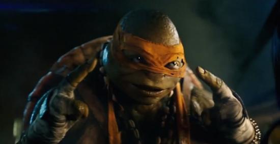 Teenage mutant ninja turtles 2014 michelangelo