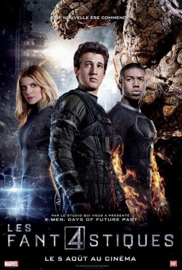Trois nouveaux posters pour les 4 fantastiques
